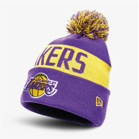 New Era LA Lakers Stickad Mössa