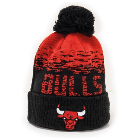 Chicago Bulls Stickad Mössa