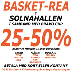 Basketturnering Bravo Cup