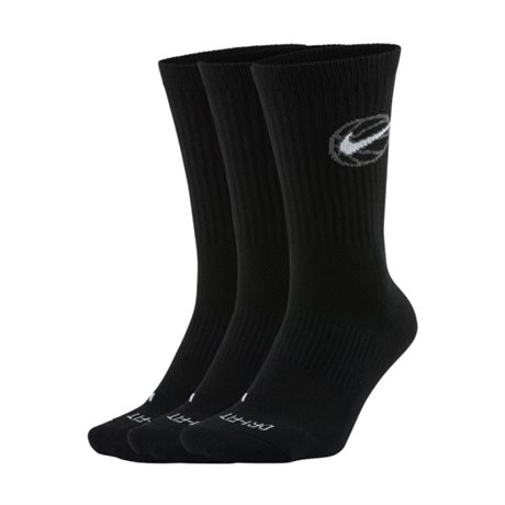 Nike Everyday Elite Crew Sock 3-pack