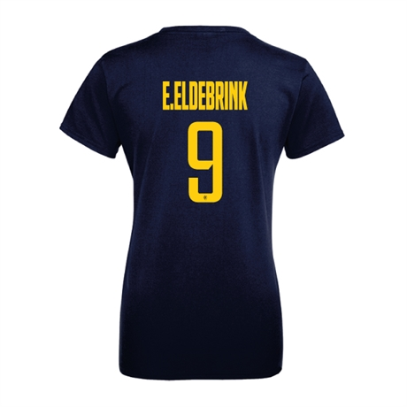 E.ELDEBRINK 9 Sweden Basketball Tee Dam