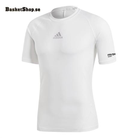 Fryshuset Basket Adidas Alphaskin Vit köper du hos Basketshop.se