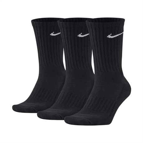 Nike Performance Crew Sock 3-pack Svart