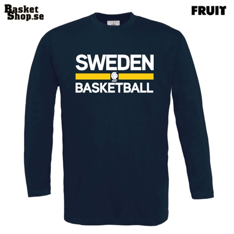 SWEDEN BASKETBALL LS Tee