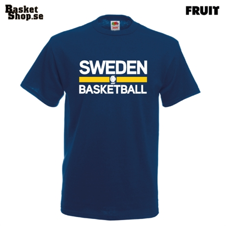 SWEDEN BASKETBALL T-shirt Marin