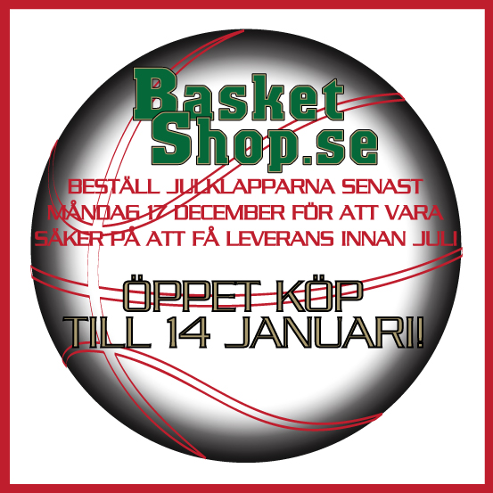 Jul hos Basketshop.se