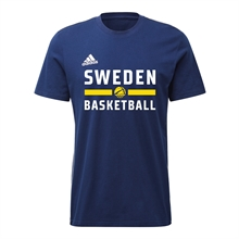 Sweden Basketball Adidas Tee
