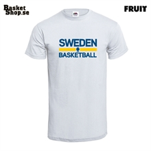 Sweden Basketball Tee Vit